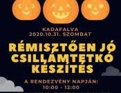 I. Tökös Kadafalvi Családi Nap és Halloween Party