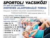 Sportolj Vacsiköz! - ingyenes alakformáló torna