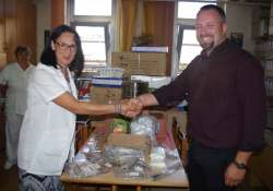 Újabb támogatást adott a Kecskeméti Pünkösdi Gyülekezet a Megyei Kórháznak
