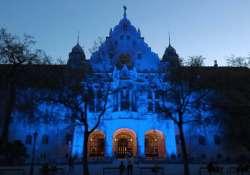 Kékbe borul ma este a Városháza! Ragyogj kéken Kecskemét!
