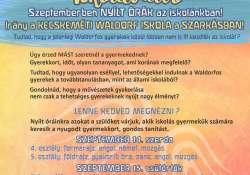 Szerdán kezdődnek az őszi Iskolaváltó programok
