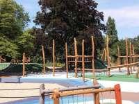 Pólópálya játszótér nyílt a Margitszigeten