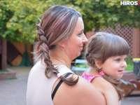 Hajfonó tanodánk megnyílt! Kis hercegnőket varázsoltunk lányainkból