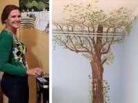 Egyedi, álomszép gyerekszoba, vagány nappali, dizájnos iroda – Alterné Olgi álomszép falfestést varázsol neked