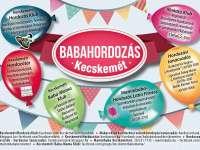 Rendhagyó Babahordozó hét lesz Kecskeméten