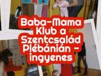 Baba-Mama Klub a Szentcsalád Plébánián