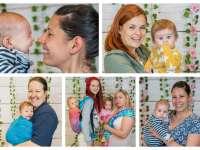 Hódítanak a csinos anyukák - V. Hordozós Fesztivál Kecskeméten