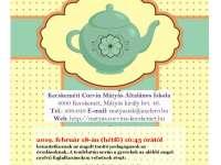 Meghívó angol tea délutánra a Mátyás Iskolába