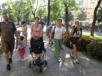 Séta és piknik a szabad szoptatás népszerűsítéséért Kecskeméten