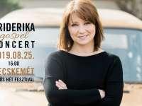 Friderika gospel koncert a Hírös Hét Fesztiválon