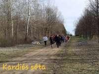 Kardiós séta az Arborétumban