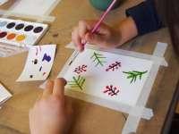 Karácsonyi képeslap festő workshop az ART PLACC-on