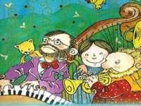 Tuba Tóbiás - Zenét hallgat a család