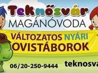 Teknősvár Magánóvoda táborai